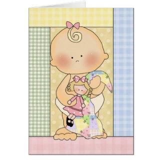 Carte de félicitations : Bébé doux