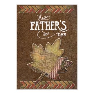Carte de fête des pères carton d'invitation  12,7 cm x 17,78 cm