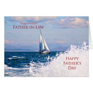 Carte de fête des pères pour le beau-père