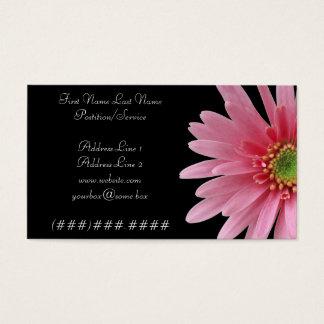 Carte de fleuriste