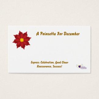 Carte de fleuriste pour la Decembery-Personnaliser