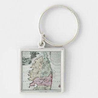 Carte de la Corse Porte-clés