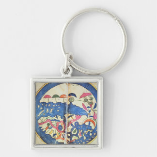 Carte de l'Egypte, 1348 Porte-clé
