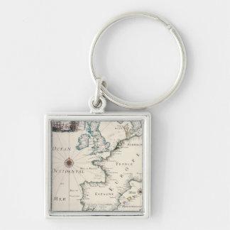 Carte de l'Europe Porte-clé