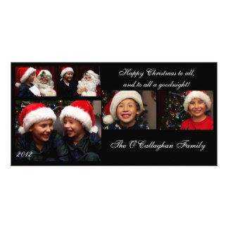 Carte de Noël - Noël heureux à tous… Modèle Pour Photocarte