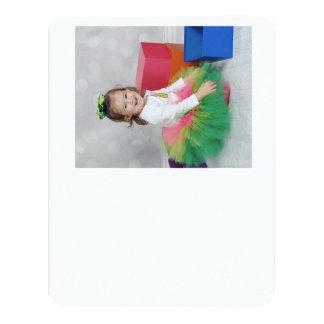 Carte de remerciements carton d'invitation 10,79 cm x 13,97 cm
