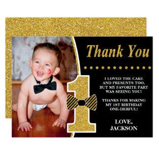 Carte de remerciements de M. ONEderful Birthday