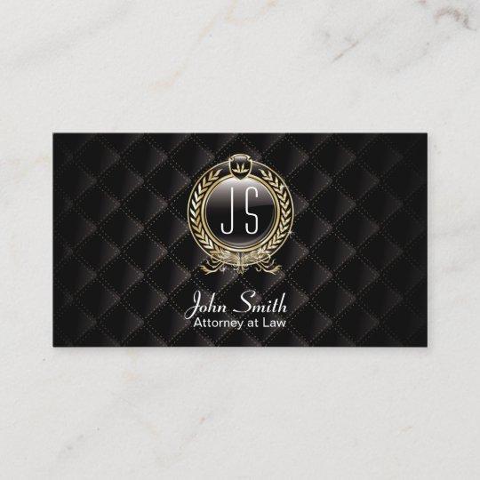 Carte De Visite Avocat De Luxe De Lobscurite VIP Davocat