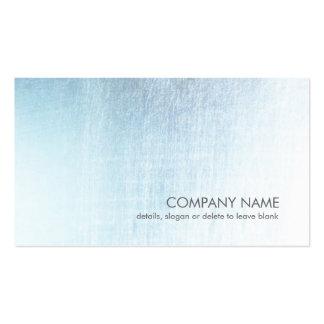 Carte de visite balayé bleu-clair moderne de