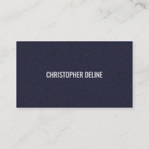 Carte De Visite Conseiller Bleu Texturis Lgant Minimaliste