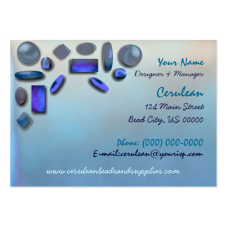 Carte de visite de magasin de perle