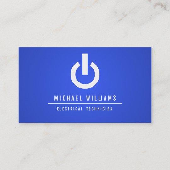 CARTE DE VISITE TECHNICIEN ELECTRICIEN ELECTRIQUE