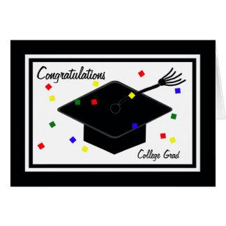 Carte d'obtention du diplôme d'université