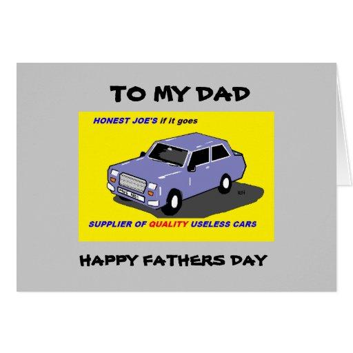 carte drôle de fête des pères