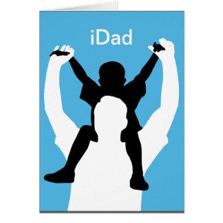 carte drôle de fête des pères d'iDad
