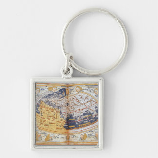 Carte du monde, 1486 porte-clefs