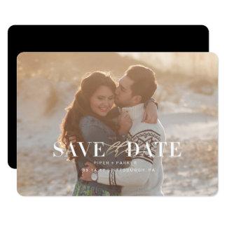 Carte Économies modernes de mariage les dates