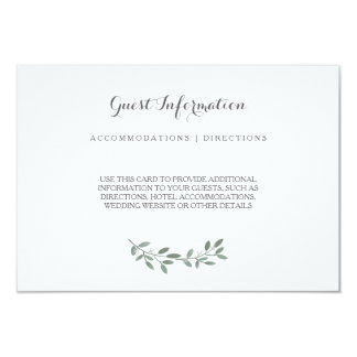 Carte élégante d'insertion de suite de mariage