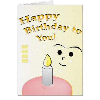 Carte Enfant d'anniversaire
