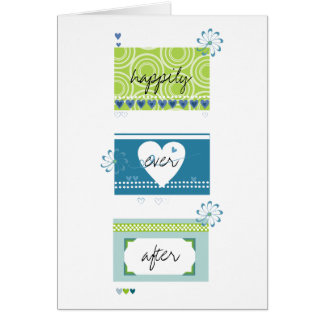 Carte Félicitation de mariage
