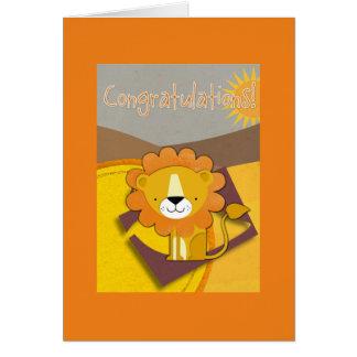 Carte Félicitations