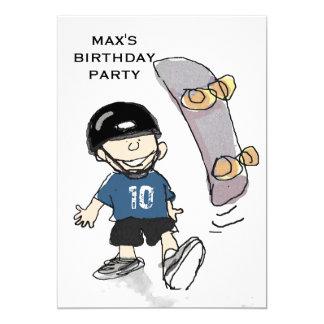 Carte Fête d'anniversaire du garçon