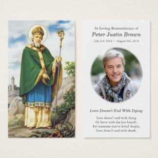 Carte funèbre glorieuse de prière de sympathie de
