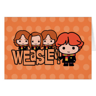 Carte Graphique de Weasley Siblilings de bande dessinée