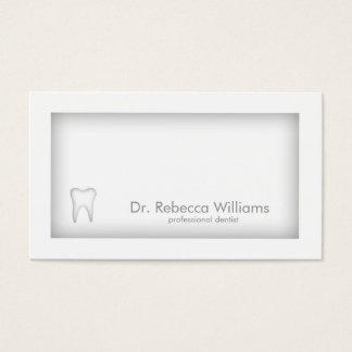 Carte grise d'ombre de frontière de dentiste de