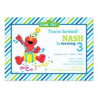 Carte L'anniversaire du garçon d'Elmo