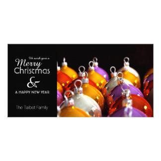 Carte Les babioles de Noëls personnalisées saluant la