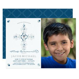 Carte L'invitation du premier de sainte communion de
