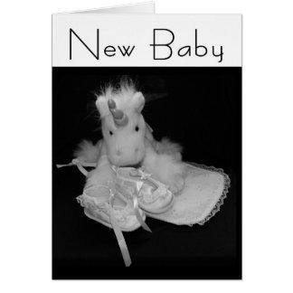 Carte Nouveau bébé de félicitations