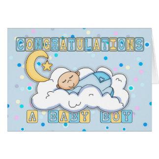 Carte Nouvelles félicitations de bébé