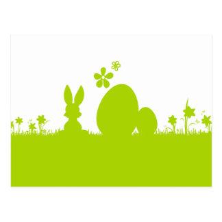 Carte Pâques lapin de Pâques oeuf de Pâques