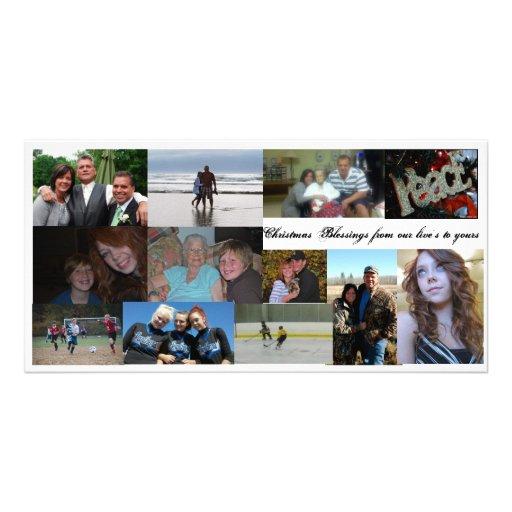 carte photo, collage, photocartes personnalisées