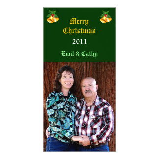 Carte photo de Bells de Noël Cartes Avec Photo