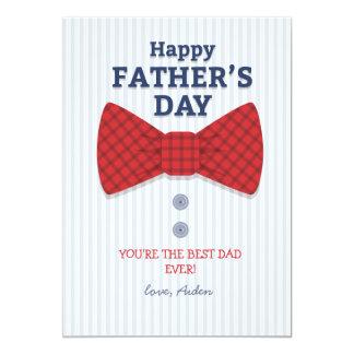 Carte photo de fête des pères carton d'invitation  12,7 cm x 17,78 cm