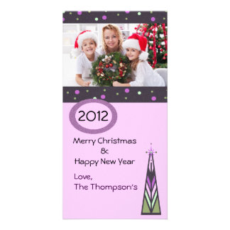 Carte photo de l'arbre de Noël un Photocartes Personnalisées