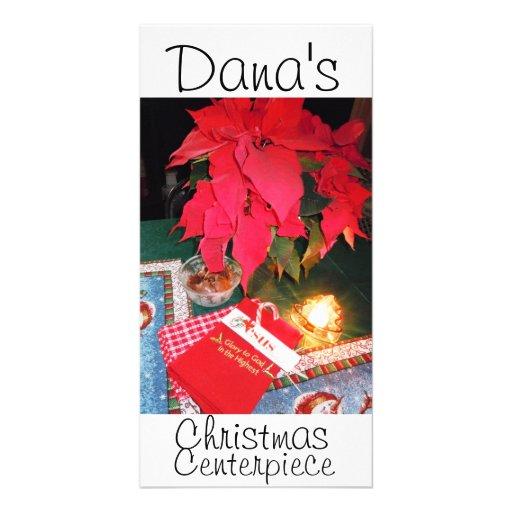 Carte photo de Noël de Dana Modèle Pour Photocarte