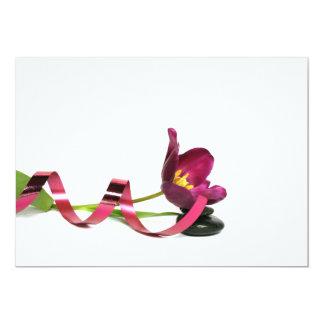 Carte pink tulip