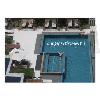 Carte piscine de retraite