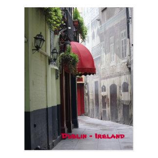 Carte Postale Allée de Dublin