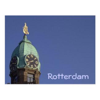 Carte Postale Ancien bureau de HAL, Rotterdam