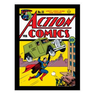 Carte Postale Bandes dessinées d'action #33