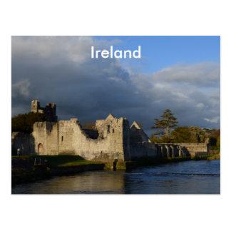 Carte Postale Château de Desmond dans Adare Irlande