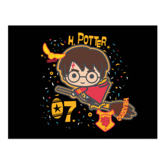 Carte Postale Chercheur de Harry Potter Quidditch de bande