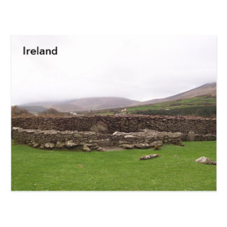 Carte Postale clochan, Risac, Kerry, Irlande