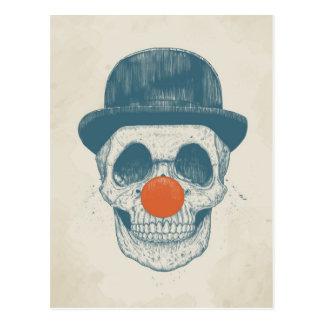 Carte Postale Clown mort