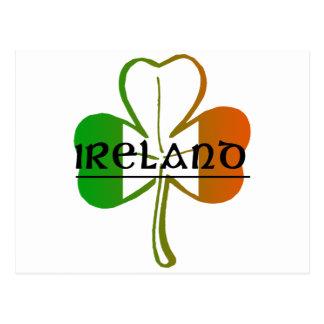 Carte Postale Conception d'IRELAND-CLOVER